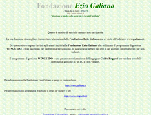 Tablet Preview of eziogaliano.it